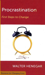 9780875526997-RCL Procrastination: First Steps to Change-Henegar, Walter