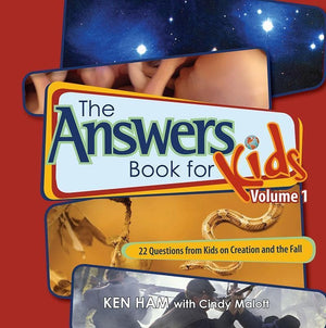 9780890515266-Answers Book for Kids Volume 1: 22 Questions from Kids on Creation and the Fall-Ham, Ken; Malott, Cindy