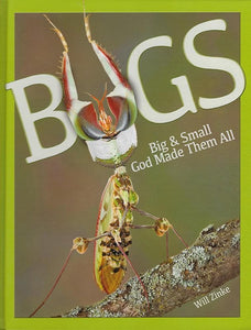 9780890518359-Bugs: Big & Small God Made Them All-Zinke, Will