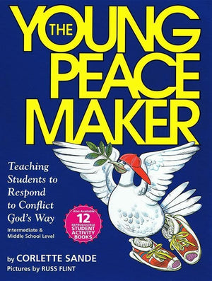 9780966378610-Young Peacemaker, The: Teaching Students to Respond to Conflict God's Way-Sande, Corlette