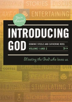Introducing God Course DVD: Meeting the God who loves us by Steele, Dominic (9780980390261) Reformers Bookshop