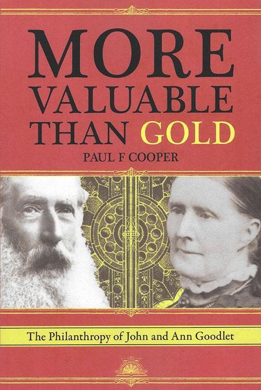 9780994358004-More Valuable Than Gold: The Philanthropy of John and Ann Goodlet-Cooper, Paul F