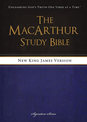 9781418550356-NKJV MacArthur Study Bible (Revised & Updated Edition)-MacArthur, John