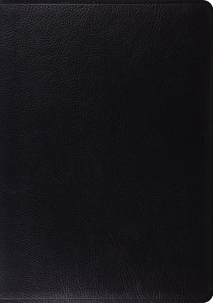 ESV Study Bible: Black: Bonded Leather by Bible (9781433502453) Reformers Bookshop
