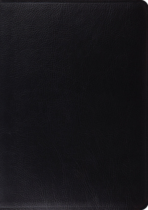 ESV Study Bible: Black: Bonded Leather