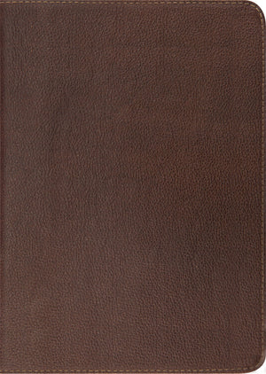 ESV Study Bible (Cowhide, Deep Brown) by ESV (9781433521782) Reformers Bookshop