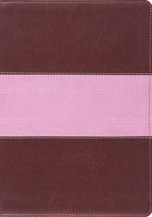 ESV Study Bible (TruTone, Chocolate/Rose, Trail Design) by ESV (9781433527180) Reformers Bookshop