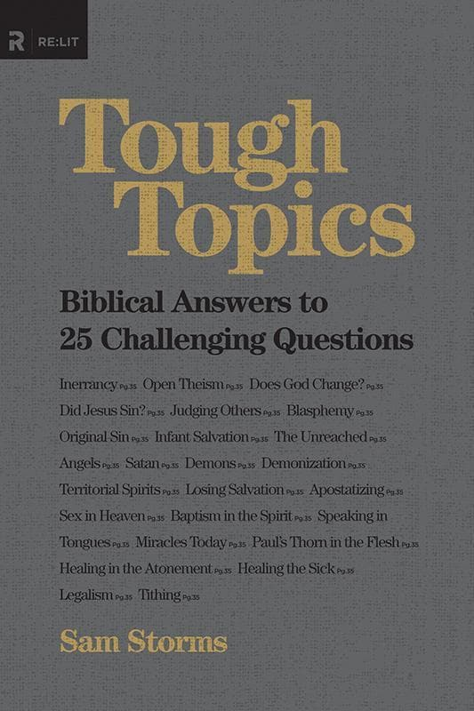 9781433534935-Tough Topics: Biblical Answers to 25 Challenging Questions-Storms, Sam