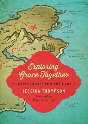 9781433536915-Exploring Grace Together: 40 Devotionals for the Family-Thompson, Jessica