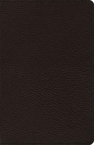ESV Heirloom Thinline Bible: Goatskin, Black