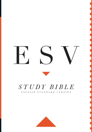 ESV Study Bible, Large Print (Hardcover) by ESV (9781433544132) Reformers Bookshop