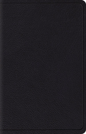 ESV Wide Margin Reference Bible (Top Grain Leather, Black) by ESV (9781433544187) Reformers Bookshop