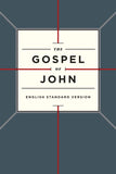 ESV Gospel of John (Paperback, Cross Design) by ESV (9781433544194) Reformers Bookshop