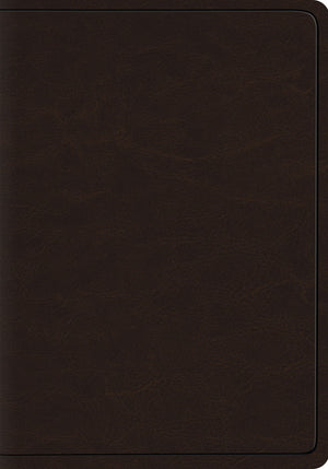 ESV Heirloom Wide Margin Reference Bible - Deep Brown Goat Skin by Bible (9781433545566) Reformers Bookshop