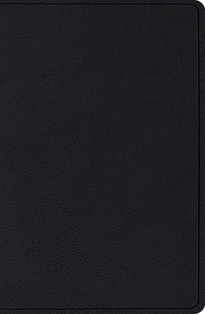ESV Verse-by-Verse Reference Bible (Top Grain Leather, Black) by ESV (9781433545689) Reformers Bookshop