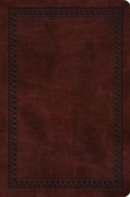 9781433551659-ESV Value Compact Bible: Mahogany: Border Design-Bible