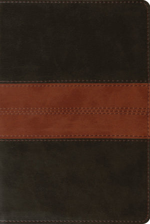 ESV Personal Reference Bible (TruTone, Deep Brown/Tan, Trail Design) by ESV (9781433557804) Reformers Bookshop