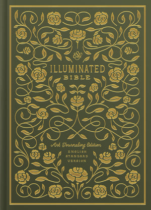 ESV Illuminated Bible, Art Journaling Edition Green by Bible (9781433557958) Reformers Bookshop