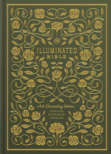 ESV Illuminated Bible, Art Journaling Edition Green