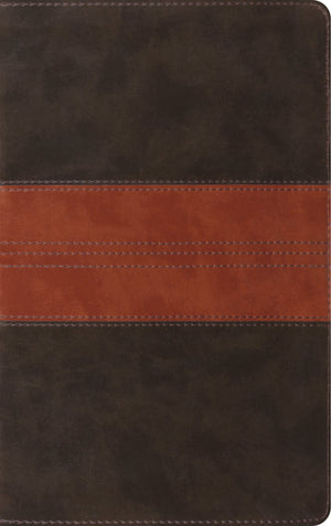 ESV Thinline Reference Bible (TruTone, Forest/Tan, Trail Design) by ESV (9781433560750) Reformers Bookshop