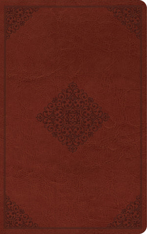 ESV Thinline Reference Bible (TruTone, Tan, Ornament Design) by ESV (9781433560767) Reformers Bookshop