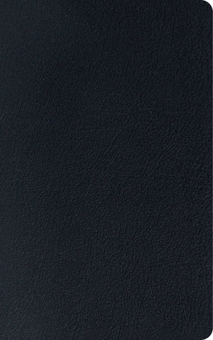 ESV Thinline Reference Bible (Genuine Leather, Black) by ESV (9781433560774) Reformers Bookshop