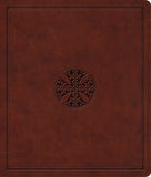 ESV Journaling Bible: Brown Mosaic Cross Design by Bible (9781433562013) Reformers Bookshop