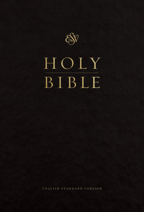 ESV Pew and Worship Bible, Large Print, Black