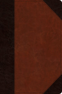 ESV Journaling New Testament, Inductive Edition | Brown Trutone