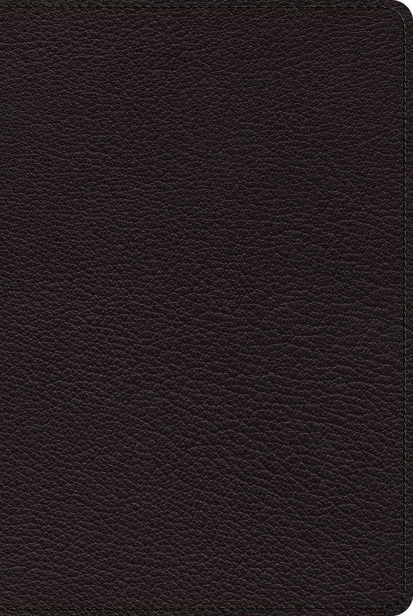 ESV Bible with Creeds and Confessions Goatskin, Black