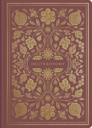 ESV Illuminated Scripture Journal: Deuteronomy | 9781433546341
