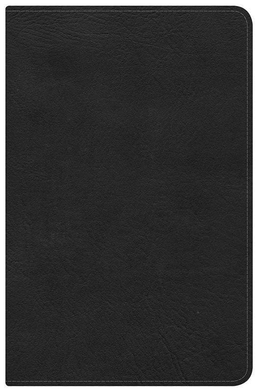 9781433603433-HCSB Ultrathin Reference Bible - Mantova Black-