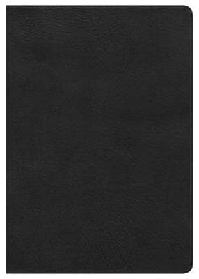 KJV Super Giant Print Reference Bible, Black LeatherTouch, Indexed by Bible (9781535954563) Reformers Bookshop