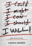 9781433687297-I Will: Nine Habits of the Outwardly Focused Christian-Rainer, Thom S.