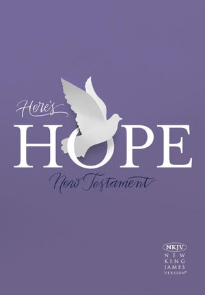 NKJV Here's Hope New Testament by Bible (9781462766215) Reformers Bookshop