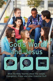 9781527100473-God's Word And Jesus: What the Bible Teaches about The Gospel, Evangelism, Prayer and Other Essential Stuff-Martin, Laura