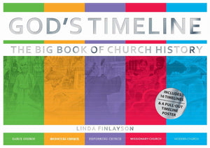 God's Timeline: The Big Book of Church History by Finlayson, Linda (9781527100985) Reformers Bookshop