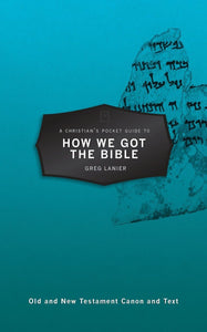 CPG How We Got the Bible