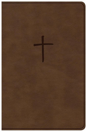 NKJV Compact Bible, Value Edition Brown Leathertouch by Bible (9781535925648) Reformers Bookshop