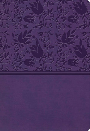 KJV Super Giant Print Reference Bible, Purple LeatherTouch, Indexed by Bible (9781535954273) Reformers Bookshop