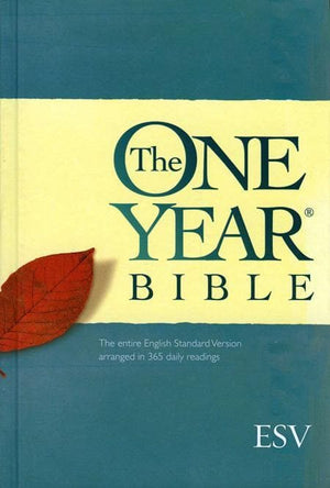 9781581347098-ESV One Year Bible, The: The entire English Standard Version arranged in 365 daily readings-Bible