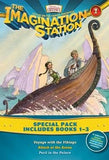 Imagination Station Books 3-Pack: Voyage with the Vikings / Attack at the Arena / Peril in the Palace