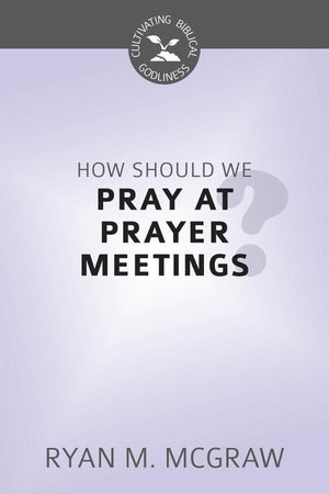 CBG How Should We Pray at Prayer Meetings? by Mcgraw, Ryan (9781601785053) Reformers Bookshop