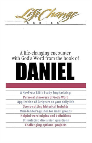 9781615211203-Daniel: A Life-Changing Encounter with God's Word from the Book of Daniel-Navigators