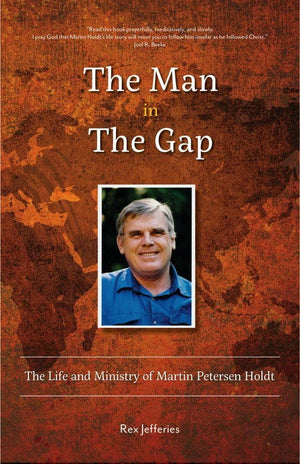 The Man in the Gap by Jefferies, Rex (9781633422162) Reformers Bookshop