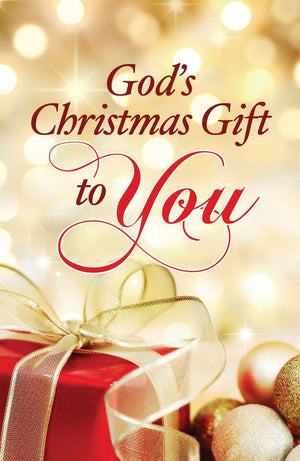 God's Christmas Gift to You 25-pack by Pritchard, Ray (9781682160800) Reformers Bookshop
