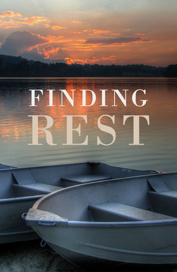 Finding Rest Tract (25 Pack)