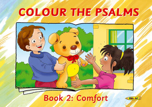 Colour the Psalms Book 2 - Comfort by Mackenzie, Carine (9781781913529) Reformers Bookshop
