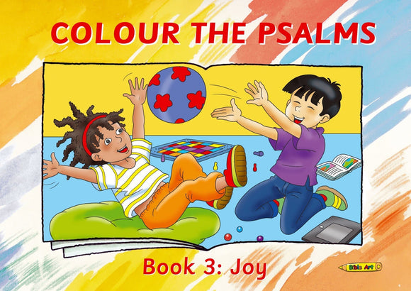 Colour the Psalms Book 3 - Joy
