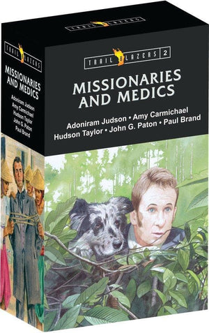 Trailblazer Missionaries & Medics Box Set 2 by Various (9781781916353) Reformers Bookshop